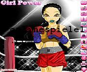 Boxing girl dress up Box online spiele